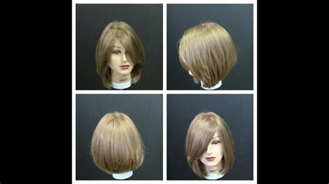 womens medium length haircut tutorial  face frame