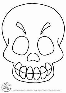 Masque Halloween A Fabriquer : monde des petits coloriages imprimer ~ Melissatoandfro.com Idées de Décoration