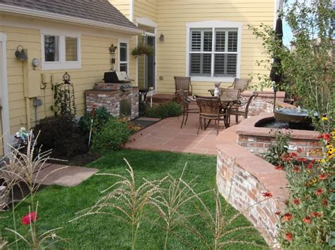 Garden Ideas For Small Backyards by Small Yard Landscapes Landscaping Network