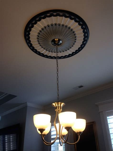 custom galveston ceiling medallion project pictures