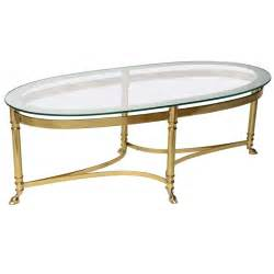 Gold Mirrored Coffee Table