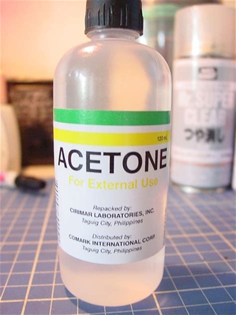 facts  acetone fact file