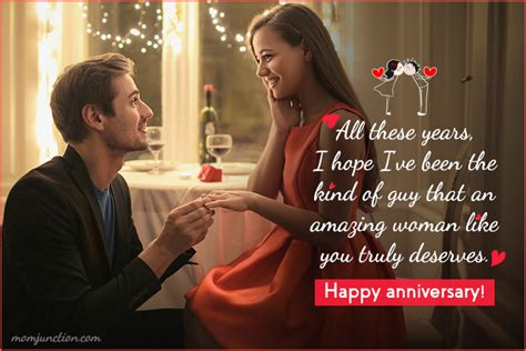 heartwarming wedding anniversary wishes  wife