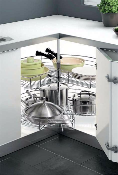 pie cut chrome lazy susan kitchen cabinet organizing corner revolving  ebay