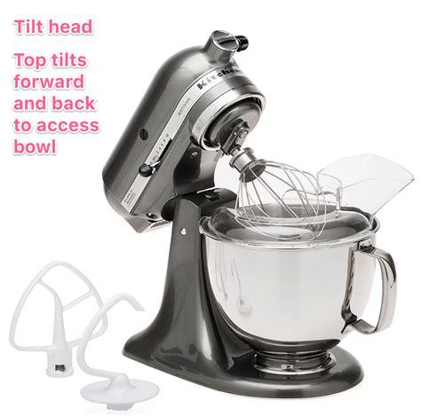 mixer kitchenaid attachments stand accessories head ons explained tilt