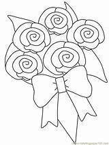 Girly Coloring Pages Printable Flower Colouring sketch template