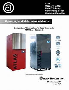 Atlas O U0026m Manual-sola-rev 2 By Ajax Boiler Inc