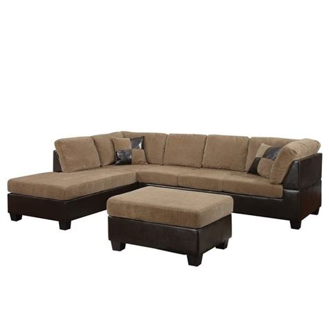 sectional sofa pieces sold separately acme furniture connell 2 piece faux leather sectional sofa