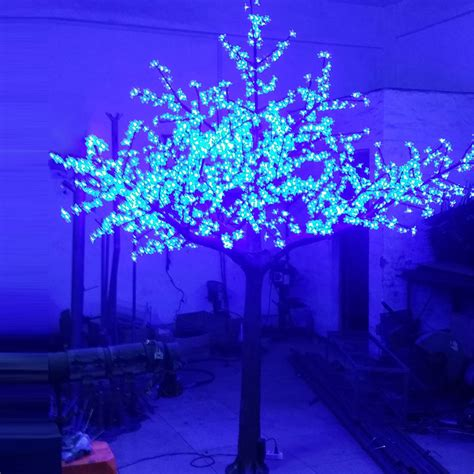 2 5meter 1728leds 3color changing led cherry blossom tree