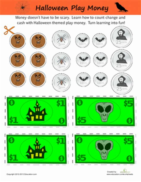 2nd grade halloween worksheets free printables