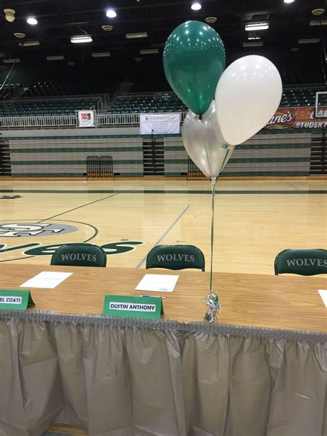 images  national signing day table ideas