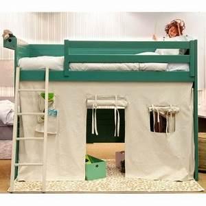 Lit Cabane Pour Enfant : lit pour enfant cabane cometa tipi de asoral ~ Teatrodelosmanantiales.com Idées de Décoration
