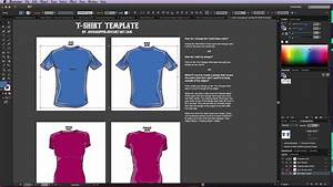 Adobe illustrator t shirt template