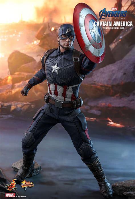 hot toys avengers endgame captain america  scale