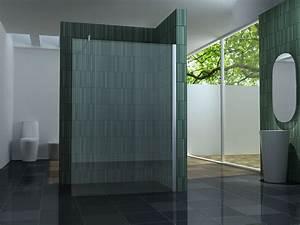 Duschtrennwand Bodengleiche Dusche : 140 walkin 10mm glas duschwand duschkabine duschabtrennung ~ Michelbontemps.com Haus und Dekorationen