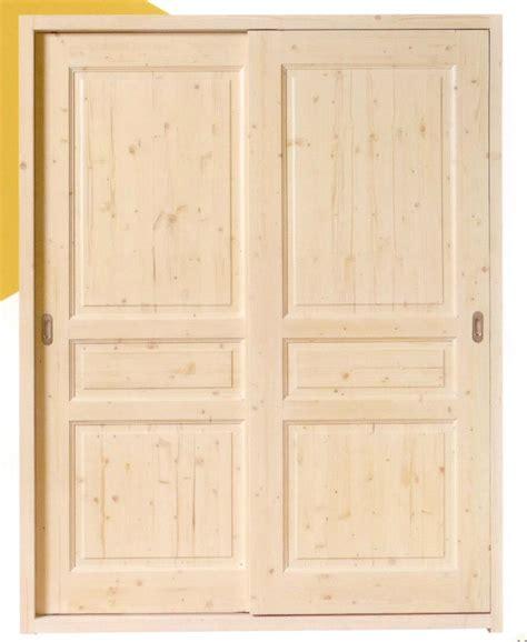 porte de placard cuisine sur mesure cuisine dressing portes placard bois brut portes de