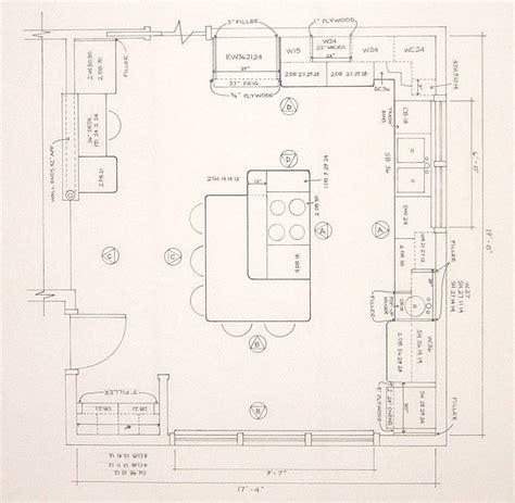 kitchen floor plans with islands kitchen floor plans island