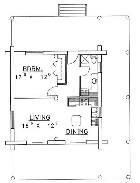 one bedroom cabin plans plan w35212gh 1 bedroom 1 bath log cabin plan 16553 | img plan w35212gh 1 bedroom 1 bath 1426097202 2