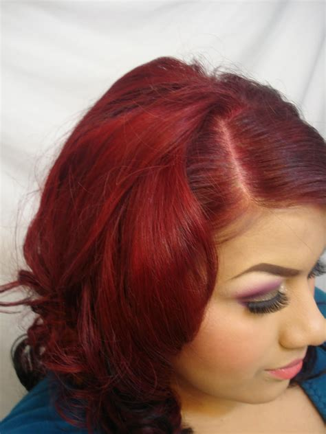 coloring   hair dark red hair colors ideas