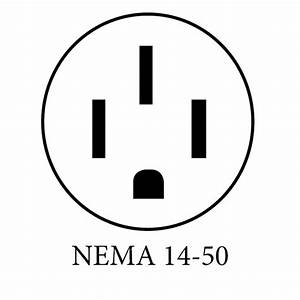 32a level 2 evse hcs 40p with nema 14 50 clippercreek With wiring 1450r outlet