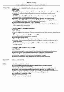 call center customer service rep resume samples velvet jobs With call center customer service representative resume