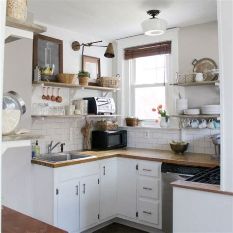 diy kitchen remodel done on a very tight budget in a very