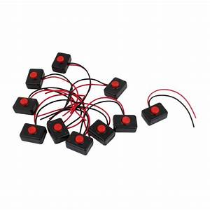 Aliexpress Com   Buy 10 X Ac 250v 3a 2 Wire Plastic Momentary Push Button Switch For Car Auto
