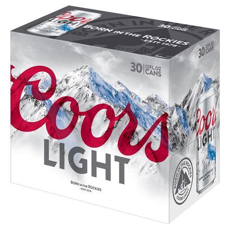 light 30 pack price upc 071990300302 coors light cans 12 oz 30 pk