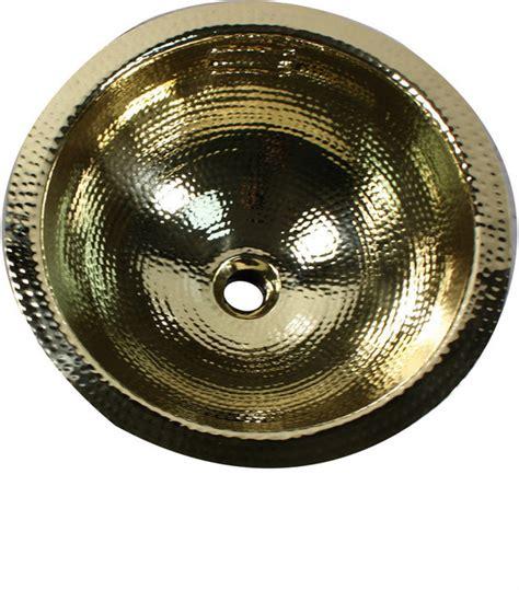 hammered brass bar sink nantucket sinks 13 quot hand hammered brass round undermount