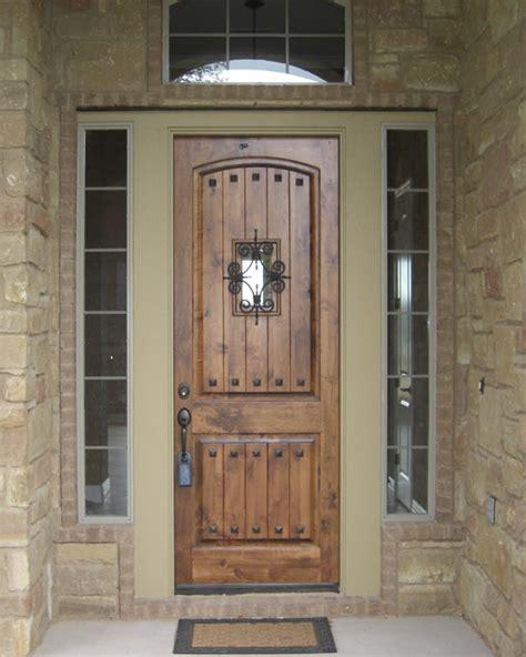 estancia entry doors rustic front doors  metro