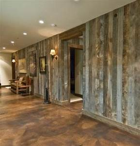 staining walls inside basement google search basement With barn wood walls inside house