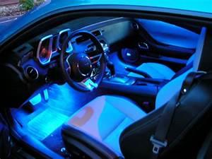Deco Lighting Laser Light Blue Glow Interior Decorative Lamp For Car Or Truck