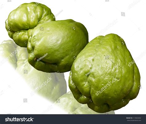 squash vegetable chayote known christophene christophine pear squash stock photo 113563453 shutterstock
