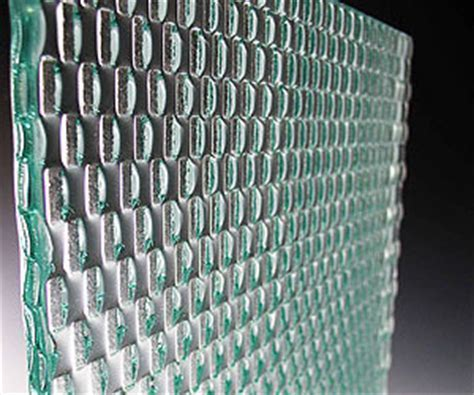 Symmetry Series   Architectural Kiln Cast Glass