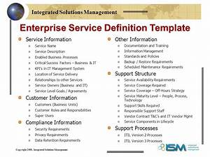 defining services for your it service catalog ppt download With it service definition template