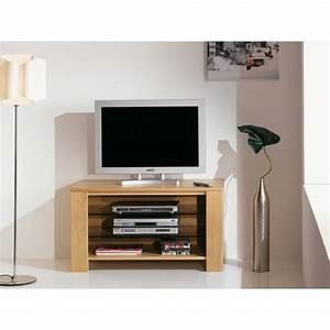 Meuble Tele Bas : meuble t l vision niche arlequin meubles de normandie ~ Teatrodelosmanantiales.com Idées de Décoration
