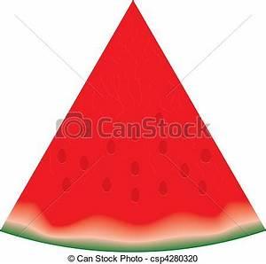 Clean piece of watermelon | Clipart Panda - Free Clipart ...