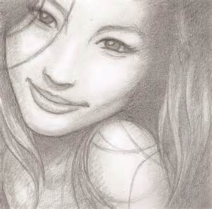 Pretty Girl Drawing