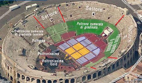 Ingressi Arena Di Verona - arena verona piantina 1 acfans