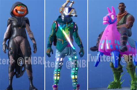 fortnite season  skins leaked patch notes reveal