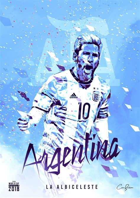 Albiceleste Mundial Argentina Russia Fifa