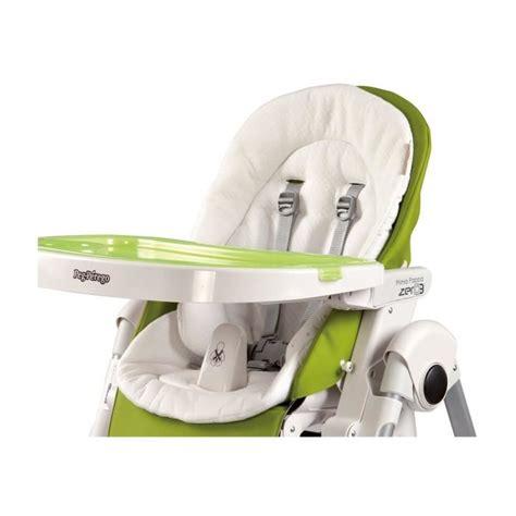 coussin chaise haute peg perego peg perego coussin réducteur chaise haute coloris blanc