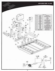 Al560  Vehicle Hitch  Exploded View