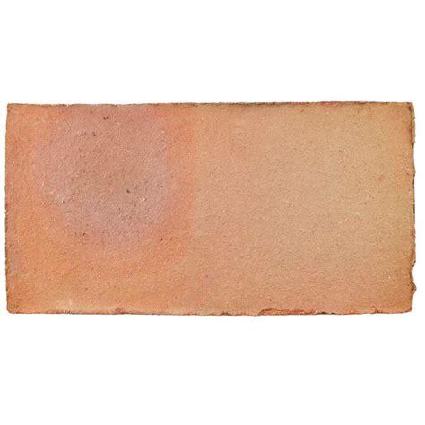 rectangle ceramic tile merola tile trevol rectangle 5 1 2 in x 10 3 4 in spanish terra cotta ceramic floor and wall