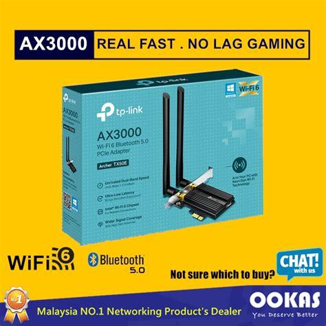 Wifi 6 vs 5ghz ile süper hızlı, kolay kurulum. TP-Link TX50E AX3000 WiFi 6 & Bluetooth 5.0 PCIe Wireless Adapter (PCI-E Wi-Fi Card For Desktop ...