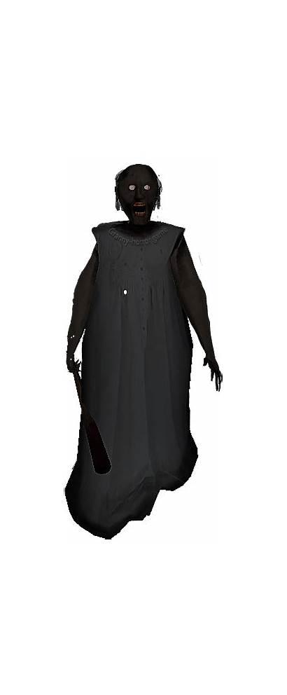 Granny Horror Costume Sticker Background Pngkey
