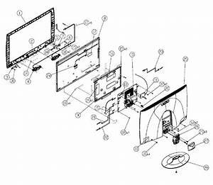 Vizio Model M220nv Lcd Television Genuine Parts