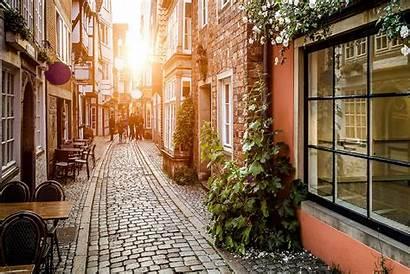 Europe Street Wallpapers Alley European 1920 Cobblestone