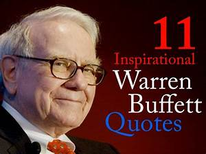 I would rather sustain the penalties res by Warren Buffett ...
