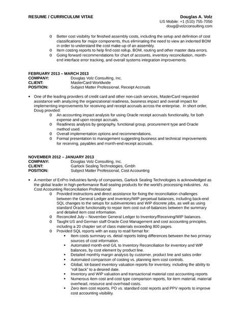 executive business process analyst resume template page 7
